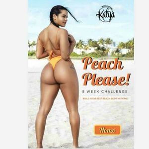 Other - Katya Henry Peach Please Home/Gym